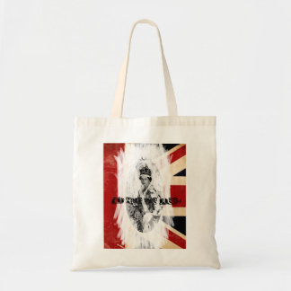 God Save the Queen punk/grunge Budget Tote Bag