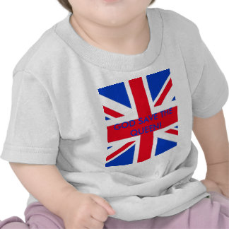 GOD SAVE THE QUEEN! T SHIRT