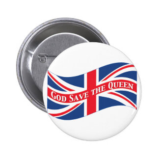 God Save the Queen with Union Jack Button