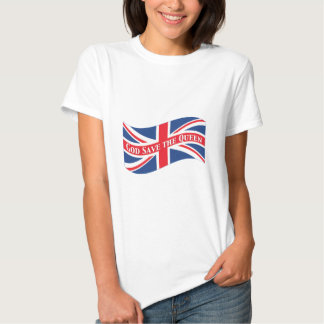 God Save the Queen with Union Jack T-shirts