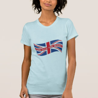 God Save the Queen with Union Jack Tshirt