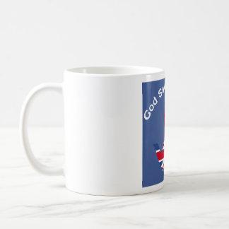 God Save The Tea! Basic White Mug