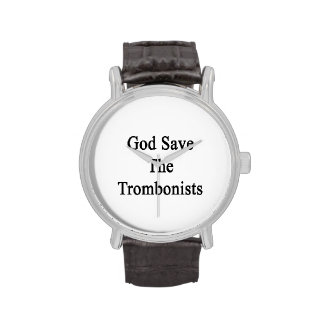 God Save The Trombonists Wristwatches