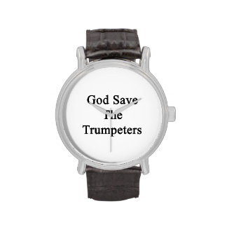 God Save The Trumpeters Wrist Watches