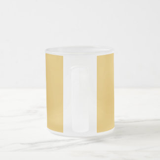 God save us all! frosted glass coffee mug