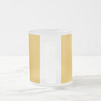 God save us all! frosted glass mug