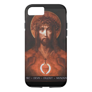 """""""God so delighted in the world"""" iPhone 7 Case"""