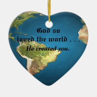 God So Loved The World Ornaments