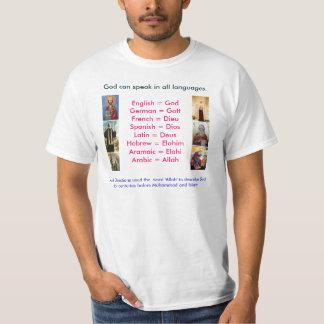 God Speaks all languages T-Shirt