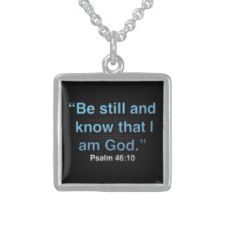God  -  Sterling Silver Necklace