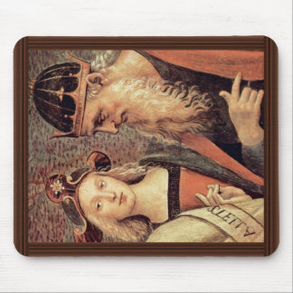 God The Father Of Prophet And Sibyl Detail Mouse Pad