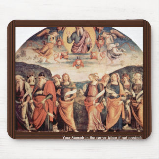 God The Father With The Prophet And Sibyl Mousepad