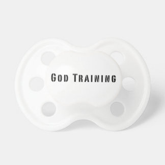 God Training Baby Pacifier