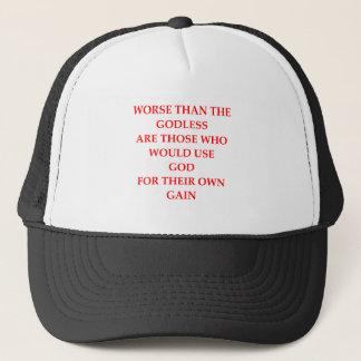 GOD TRUCKER HAT