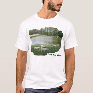 God Was Here - Goat Farm T-Shirt