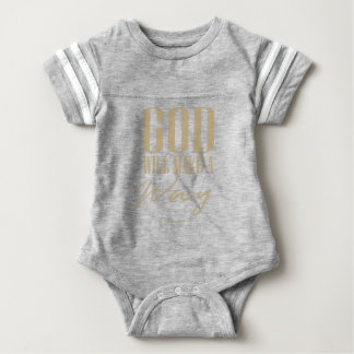God will make a way baby bodysuit
