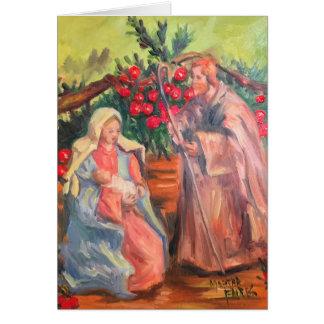 God With Us Card