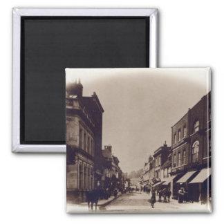 Godalming High Street, Surrey, c.1900 Square Magnet