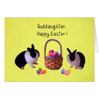 Goddaughter easter gifts t shirts art posters other gift goddaughter happy easter card negle Image collections
