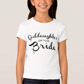 Goddaughter of Bride Tee Black