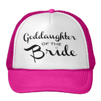 Goddaughter of Bride Trucker Hat Black