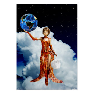Goddes of Universe Mini Print Pack Of Chubby Business Cards