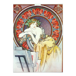 "Goddess Artwork 4.5"" X 6.25"" Invitation Card"