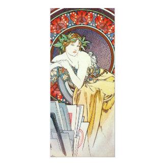 "Goddess Artwork 4"" X 9.25"" Invitation Card"