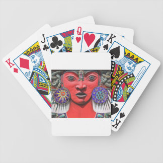 Goddess Bicycle Playing Cards