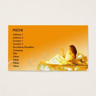 Goddess Biz Card Template