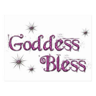 Goddess Bless Postcard