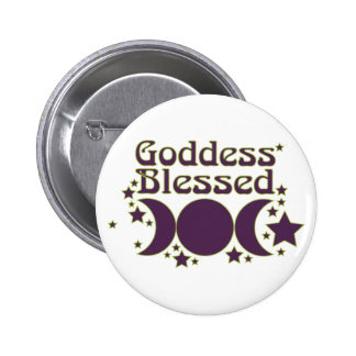 Goddess Blessed Buttons