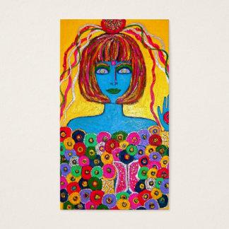 Goddess Bride Placecard Profile Card