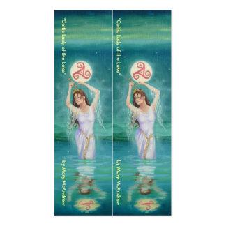 Goddess Business Card / Book Mark- Lady of Lake
