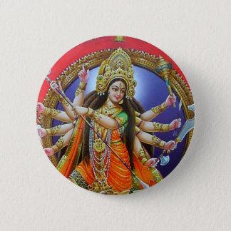 Goddess Durga 6 Cm Round Badge