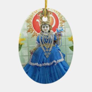 Goddess Durga NavDurga Images Ceramic Oval Decoration