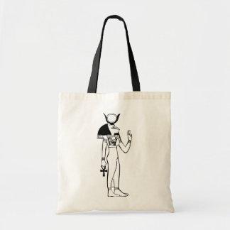 Goddess, Egyptian hieroglyph Tote Bag