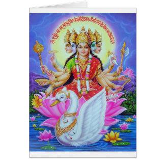 goddess-gayatr card