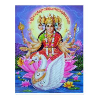 goddess-gayatr postcard