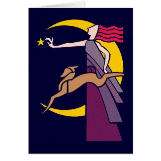 Goddess Goddess Diana Card