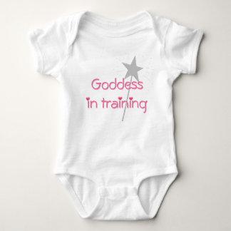 Goddess in training baby baby bodysuit