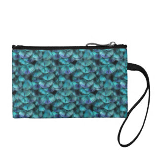 Goddess Isis Blue Feathers Coin Purse