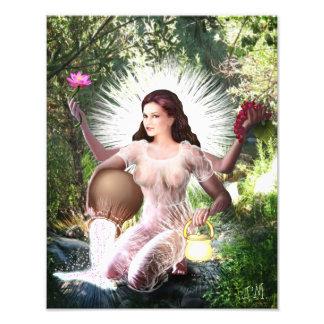 Goddess Lakshmi photo print