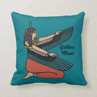 Goddess Maat! Throw Pillow