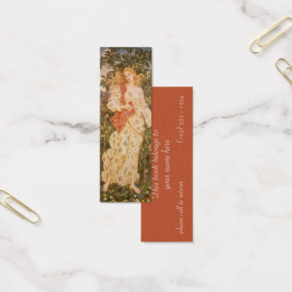 Goddess of Blossoms and Flowers, Flora by Morgan Mini Business Card