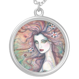 Goddess of Flowers Necklace