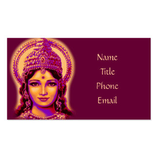 Goddess of Fortune - Lakshmi Pack Of Standard Business Cards