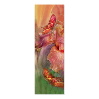 Goddess Of Spring Art Bookmark Double-Sided Mini Business Cards (Pack Of 20)