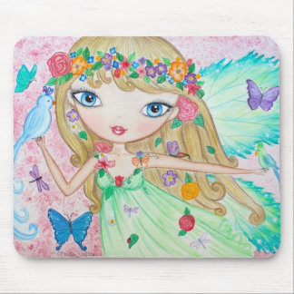 """""""Goddess of Spring"""" Mouse Pad"""