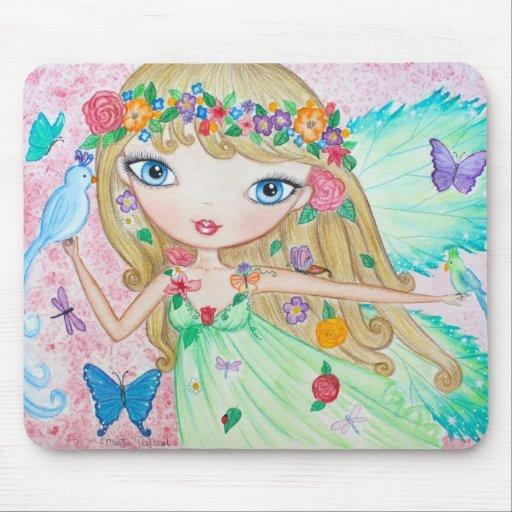 """Goddess of Spring"" Mousepad"